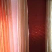 Plissee und Vorhänge