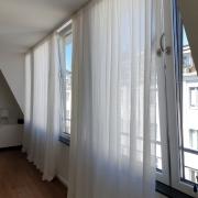 Semi transparente Vorhänge